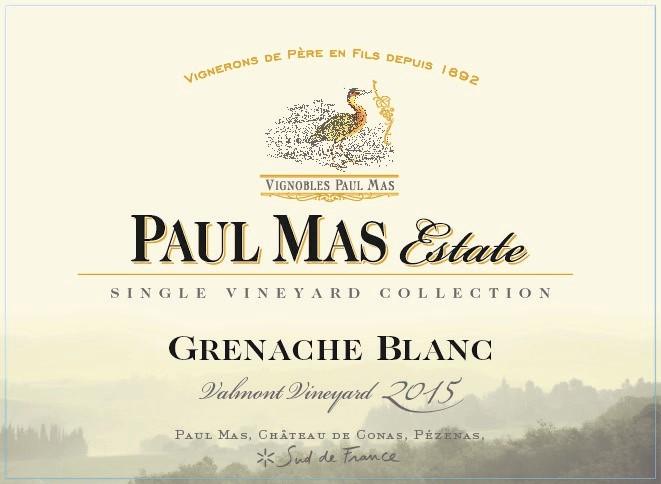 Paul Mas Estate - Grenache Blanc